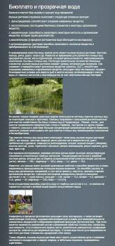 Биоплато и прозрачная вода