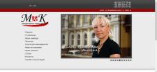 """Сайт візитка """"MandK"""" юридична компанія"""