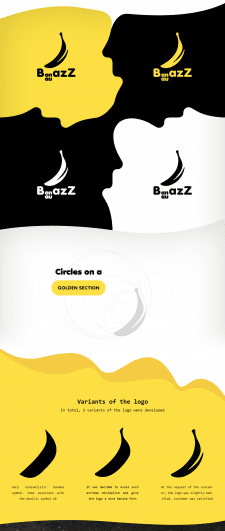 BananazZ • Logo for Web Design Studio