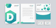 Разработка фирменного стиля - Centum-D