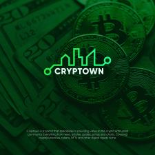 Логотип для крипто-портала - CryptoTown
