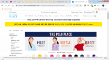 Парсинг сайта childrensplace.com