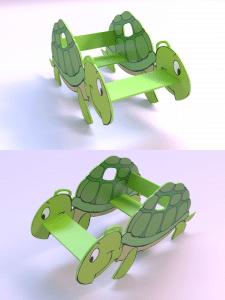 Дизайн объекта для детской площадки