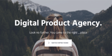 A website for Digital Agency