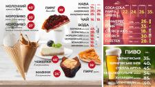 Меню для ресторана КРИЛА (съемка и дизайн)