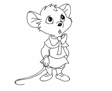 Иллюстрация мышка