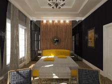 """Дизайн спальни """"Современная классика"""""""