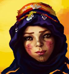 Amazigh (berber) girl