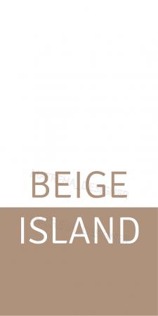 Бирка для бренда одежды Beige Island