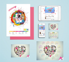 календари, открытки для музыкальной группы