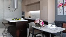 Современная кухня (16,2 м.кв.)