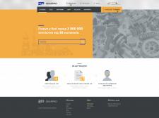 Auto parts web store GearPro