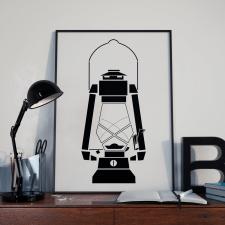 Иллюстрация с лампой