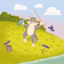 Кот-индеец
