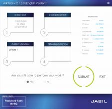 """Интерфейс программы для ТНК """"JABIL"""""""
