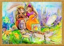 Иллюстрация - акварель