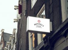 Логотип Mendel's bakery