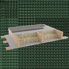 Перекрытие деревянное по балкам