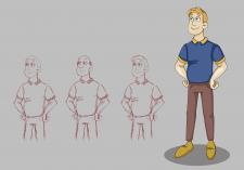 Разработка персонажа для мультфильма