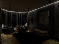 Eclectic loft. Master Badroom