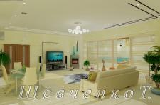 частный дом - гостиная