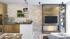 Дизайн-проект квартиры в г.Люблин,Польша