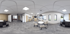 360 панорама coworking center Хельсинки.