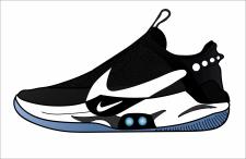 Nike Adapt иллюстрация обуви