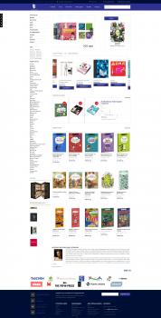 Интернет-магазин книг Artbooks на Magento