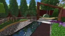 Сад в стиле контемпорари