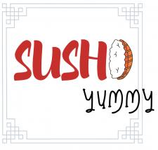 Логотип для суши-бара