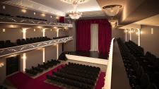 Розробка дизайну та візуалізації концертного залу