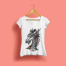 дизайн футболки Targaryen
