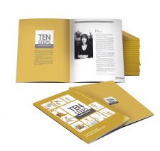 Обложка и концепт для сборника Ten Steps