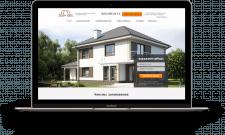 Главная страница строительной компании Основа Дома