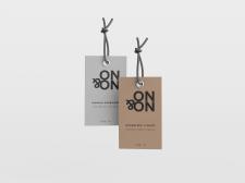 Этикетка - логотип магазина ON&ON