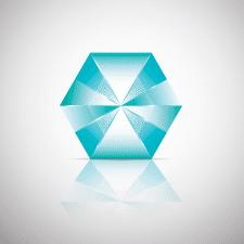 Лого диамант
