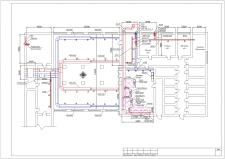 План ОВ для столової та кухні.