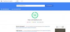 Оптимизация GooglePageSpeed