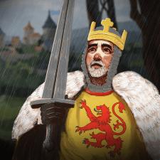 Король - цифрова ілюстрація