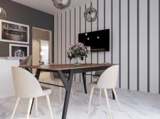 Візуалізація №2 кухня-столова