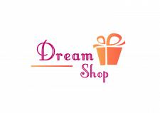 """логотип для магазина подарков """"Dream shop"""""""