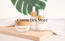 Сайт для магазина косметики
