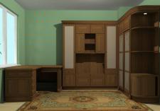 проектирование мебели в кабинет