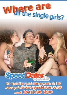 Плакат А4, speedDater