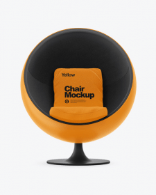 ball chair mockup