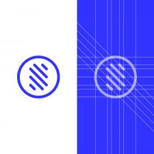 Sport S Letter Logo Grid