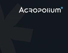 Верстка брендбука Acropolium