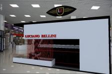 Выставочный стенд обуви Luciano Bellini