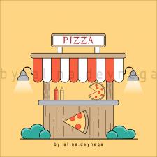 Уличная пиццерия